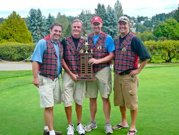 The 2009 Golf Tournament Champs